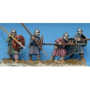 Unarmoured Warriors with Helmets pas cher