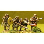 Unarmoured Warriors in Fur Sheep-skins pas cher