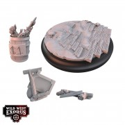 Wild West Exodus - Red Oak Large Topper and Scatter Set pas cher