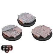 Wild West Exodus - Red Oak Medium Toppers pas cher