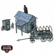 Wild West Exodus - Red Oak Prospector's Shack pas cher