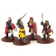 Crusading Foot Knights (Command) pas cher