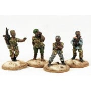 African Militia - Warlord & Bodyguards pas cher