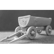Decorated Viking Cart pas cher
