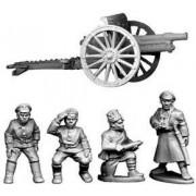 Bolshevik Field Gun and Crew pas cher
