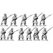 Bolshevik Infantry in Greatcoats pas cher