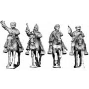Mounted Bolshevik Officers pas cher