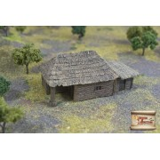 Big Peasant Hut with Pigsty pas cher