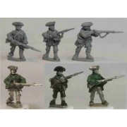 Anglo-American Militia with Bayonets pas cher