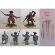 British Line Infantry Command pas cher