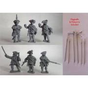 British Line Infantry Command 2 pas cher