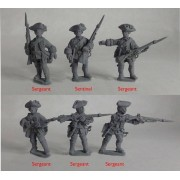 British Line Infantry Hat Company – Sergeants & Characters pas cher