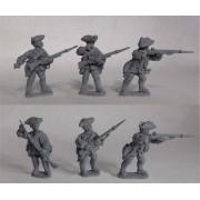 British Line Infantry - Skirmishing pas cher
