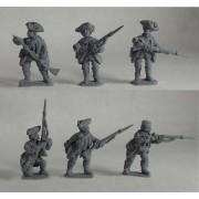 British Regular Infantry 60th Foot - Skirmishing pas cher