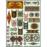 15 mm Dark Age Banners 2 pas cher