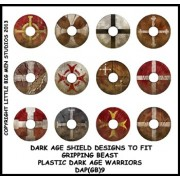 Dark Age Shield Designs 9 (Gripping Beast)