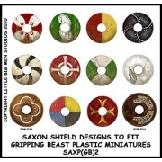 Saxon Shield Designs 2 (Gripping Beast)