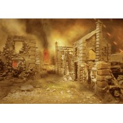 Bolt Action Scenery Pack-1:  Rumbles and Ruins pas cher