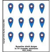 Byzantine Shield Designs 1 (Crusader) pas cher