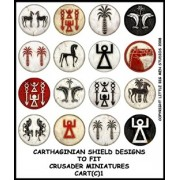 Carthaginian Shield Designs 1 (Crusader) pas cher