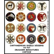 Carthaginian Shield Designs 2 (Crusader) pas cher