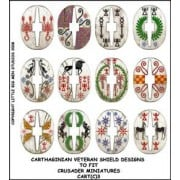 Carthaginian Veteran Shield Designs 3 (Crusader) pas cher