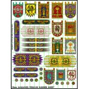 15mm Sassanid Persian Banners pas cher