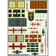 15 mm Crusader Banners 1 pas cher