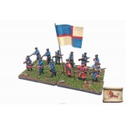 By Fire & Sword: Polish-Hungarian infantry with muskets pas cher