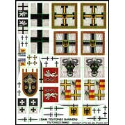 15mm Teutonic Banners pas cher