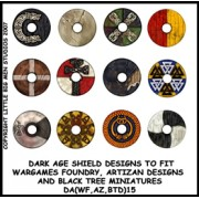 Dark Age Shield Designs 15 (Artizan) pas cher