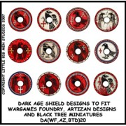 Dark Age Shield Designs 20 (Artizan) pas cher