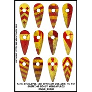 Kite Shield  / El Cid Spanish Designs (Gripping Beast) pas cher