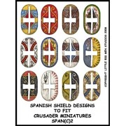 Spanish Shield Designs 2 (Crusader) pas cher
