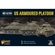 Bolt Action - US Armoured Platoon pas cher