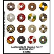 Saxon Buckler Designs 1 (Gripping Beast) pas cher