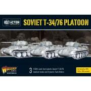 Bolt Action -  Soviet T34/76 Platoon pas cher