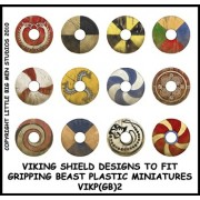 Viking Shield Designs 2 (Gripping Beast)