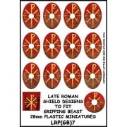 Late Roman Shield Designs 7 (Gripping Beast)