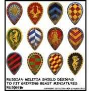 Russian Militia Shield Designs (Gripping Beast)