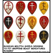 Russian Militia Shield Designs 7 (Gripping Beast)