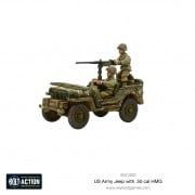 Bolt Action - US Army Jeep with 50 Cal HMG