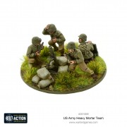 Bolt Action - US Army heavy Mortar Team
