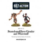 Bolt Action - Wulfen-SS: Sturmbannführer Grauler and Werewolf