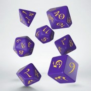 Dice Set - Classic RPG Purple & Yellow