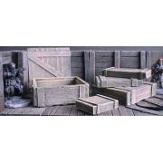 Wooden Crates x5 pas cher