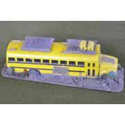 Derelict School bus pas cher