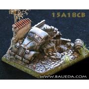 Bombed Merceds 170V + small base pas cher