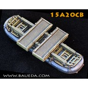 15mm M2 single pontoon module (US) pas cher