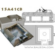 15mm Regelbau L410 emplacement for one 20mm or one 37mm anti-aircraft gun (German) pas cher